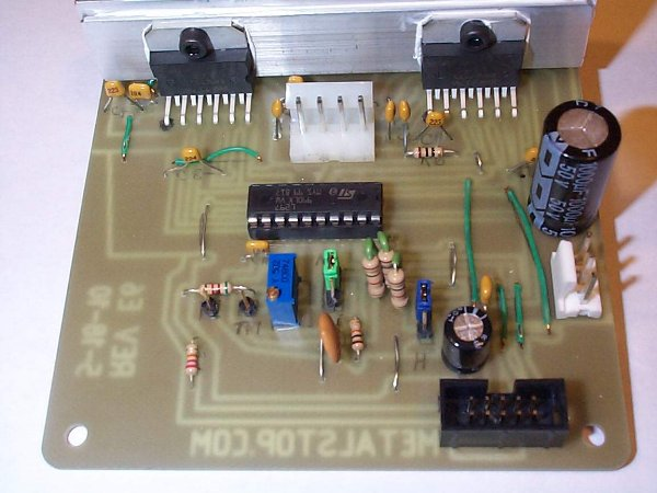 L L Stepper Motor Driver Schematic